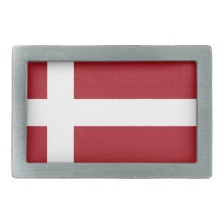 Dänemark-Flagge Rechteckige Gürtelschnalle