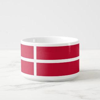 Dänemark-Flagge Schüssel