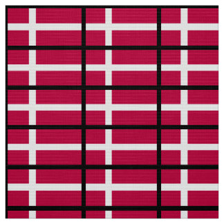 Dänemark-Flagge Stoff