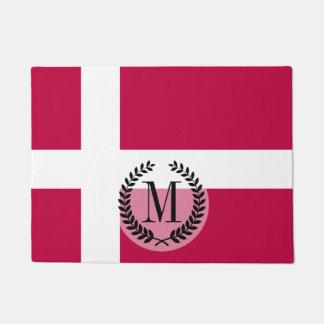 Dänemark-Flagge Türmatte