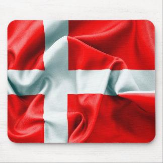 Dänemark-Flaggen-Mausunterlage Mousepad