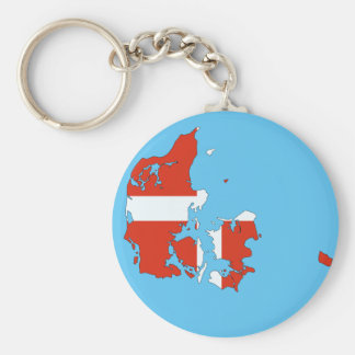 Dänemark-Land Schlüsselanhänger