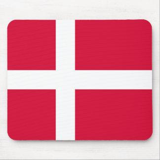 Dänemark-Landesflaggesymbol lang Mousepad