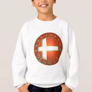 Dänemark-Schild Sweatshirt