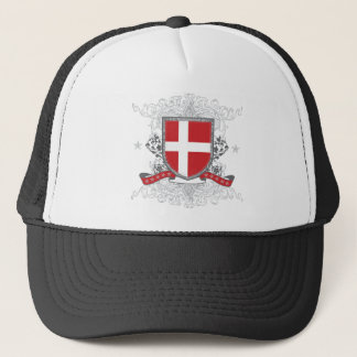 Dänemark-Schild Truckerkappe