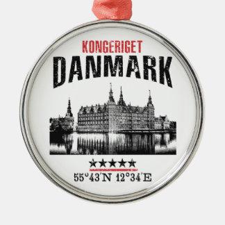 Dänemark Silbernes Ornament