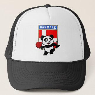 Dänemark-Tischtennis-Panda Truckerkappe