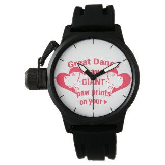 Dänen, Riesedrucke Uhr