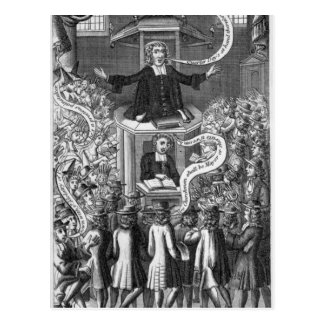 Daniel-Bürger, Illustration 'von den Porträts Postkarte