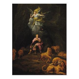 Daniel in der Höhle der Löwen Postkarte