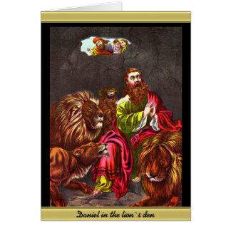 Daniel mit dem Löwe ` s Karte