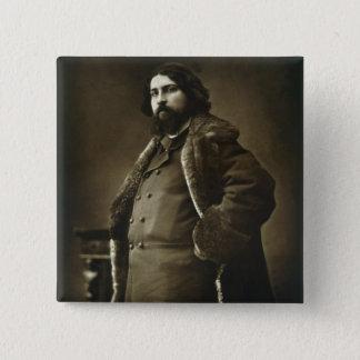 Daniel Vierge (1851-1904), von 'Galerie Contempor Quadratischer Button 5,1 Cm