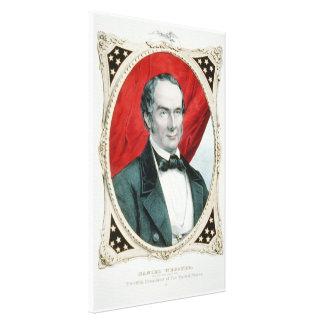 Daniel Webster12. Präsidentenkampagne Litho Leinwanddruck