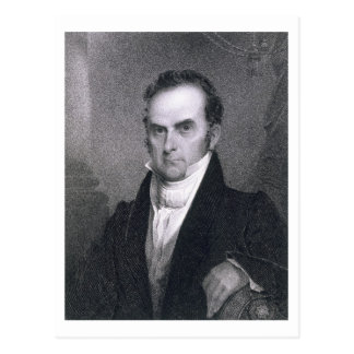 Daniel Webster (1782-1852) (Stich) Postkarte