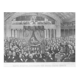 Daniel Webster, der die Vereinigten Staaten Postkarte