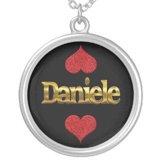 Daniele-Halskette Versilberte Kette