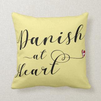 Dänische am Herz-Wurfs-Kissen, Dänemark Kissen