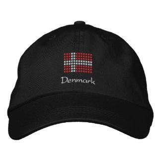 Dänische Kappe - dänischer Flaggen-Hut Besticktes Baseballcap