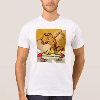 Dänische Longboarding Vorlage T - Shirt