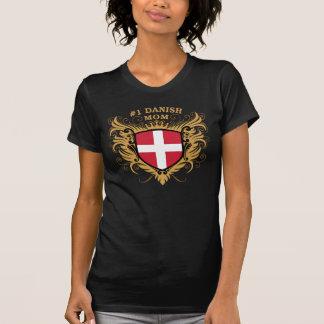 Dänische Mamma der Nr.-eine T-Shirt