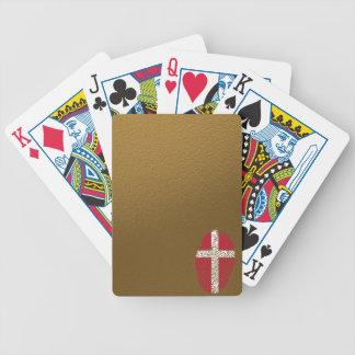 Dänische Touchfingerabdruckflagge Bicycle Spielkarten