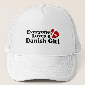 Dänisches Mädchen Truckerkappe