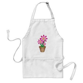 Dank für das Helfen ich wächst - glückliche Blume Schürze