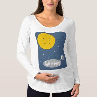 Dank für das Teilen! Schwangerschafts T-Shirt