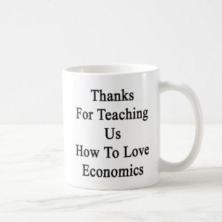 Dank für, der uns wie der Liebe-Wirtschaft Kaffeetasse