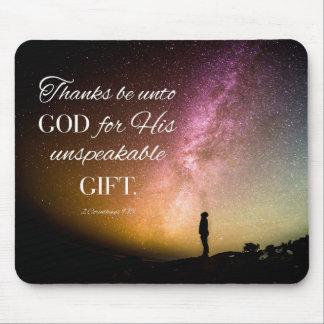 Dank ist an Gott - Herz 2. 9:15 Mauspad