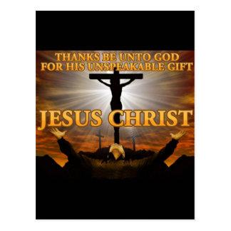 Dank ist an Gott Postkarte