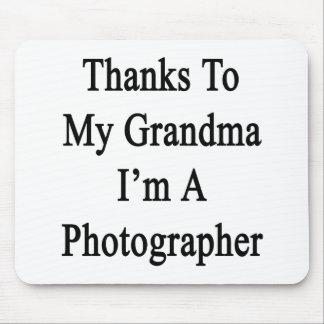 Dank meiner Großmutter bin ich ein Fotograf Mousepads