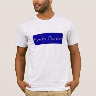 Dank, Obama! Zeigen Sie Ihre Anerkennung für T-Shirt