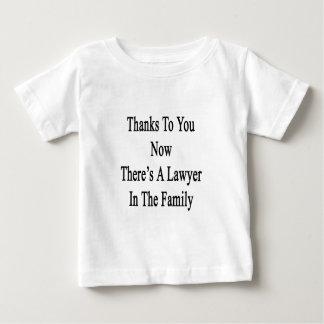 Dank Sie jetzt dort ist ein Rechtsanwalt in der Baby T-shirt