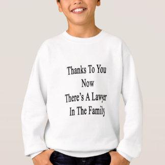 Dank Sie jetzt dort ist ein Rechtsanwalt in der Sweatshirt