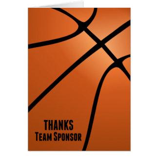 Dank-Team schätzen Sponsor-Wir Ihre Unterstützung Karte