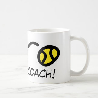 Dank-Trainer Tennis-Tasse