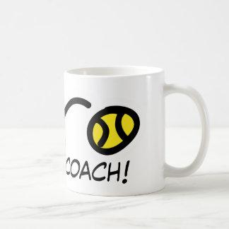 Dank-Trainer! Tennis-Tasse Kaffeetasse