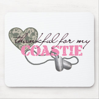 Dankbar für mein Coastie Mousepad