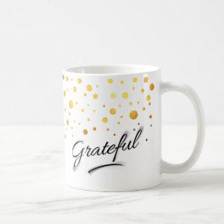 Dankbar Kaffeetasse