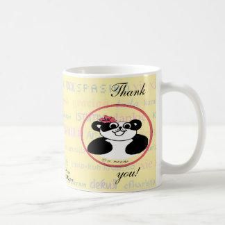 Dankbarkeit bedeutet die selbe in jeder möglicher kaffeetasse