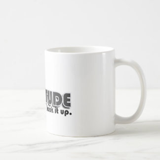 Dankbarkeit Kaffeetasse