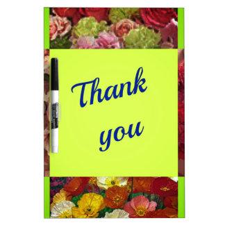 Dankbarkeit macht einen Mann besser Trockenlöschtafel