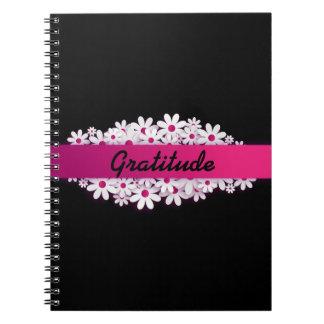 Dankbarkeits-Notizbuch Notizblock