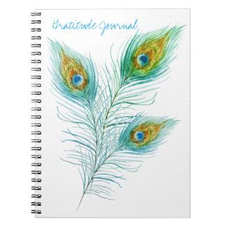 Dankbarkeits-Zeitschrift Spiral Notizblock