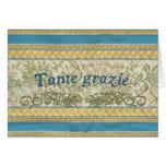 Danke auf italienisch, Tante Grazie Karten