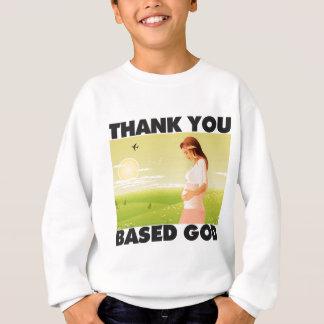 Danke basierte Gott Lil B TYBG Sweatshirt