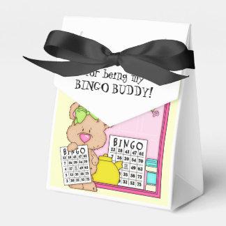 Danke Bingo-Freundzelt-Bevorzugungskasten Geschenkschachtel
