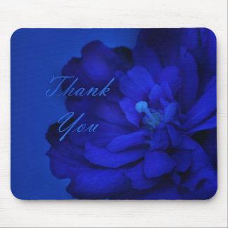 Danke - blaue Überraschung Mauspads