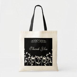 Danke Brautjungfern-Geschenk-Tasche - Budget Stoffbeutel